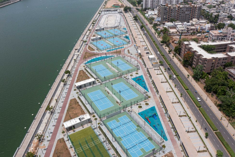 Aerial View of Sports Complex (West)